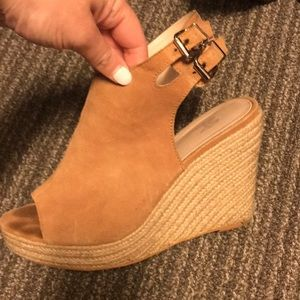 Shoes - Victoria's Secret Brown wedge